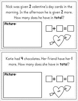 Valentine's Day Story Problems