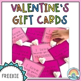 Valentine's Day Student Gift Cards
