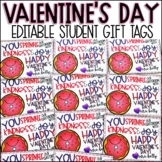 Valentines Day Gift Tag to Students