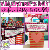Valentine's Day Student Gift Tag Poem