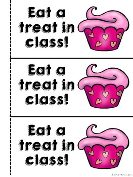 Valentine's Day Student Gifts- Coupon Book, Homework Passes and Bookmarks!