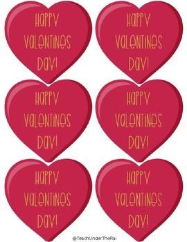 Valentine's Day Student Passes (FREEBIE)