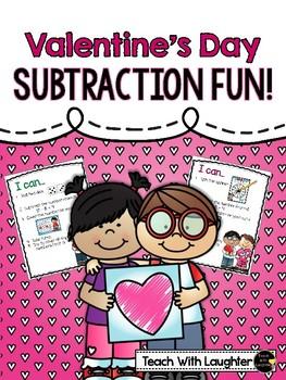 Valentine`s Day Subtraction Fun!