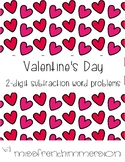 Saint Valentin: Soustraction
