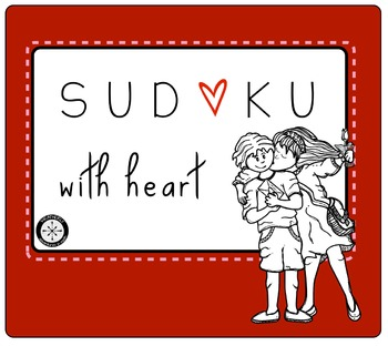 Valentine's Day Sudoku - middle and high school