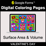 Valentine's Day: Surface Area and Volume - Google Forms  