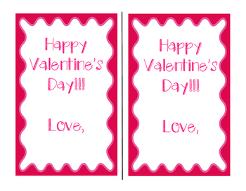 Valentine's Day Sweetie Scavenger Hunt FREEBIE