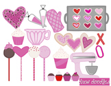 Valentine's Day Sweets Clip Art