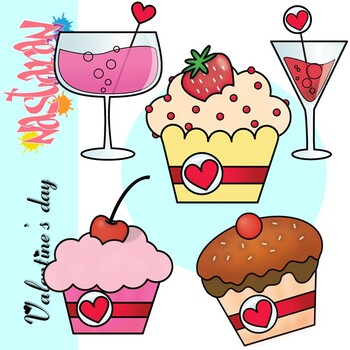 Valentine's Day Sweets Clipart