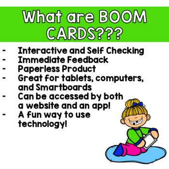 Valentine's Day Syllable Counting Digital Game Boom Cards