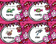 Valentine's Day Syllables Task Card Literacy Station