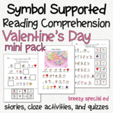 Valentine's Day - Symbol Supported Picture Reading Compreh