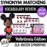 Valentine's Day Synonyms Boom Cards: 3rd-5th Grades