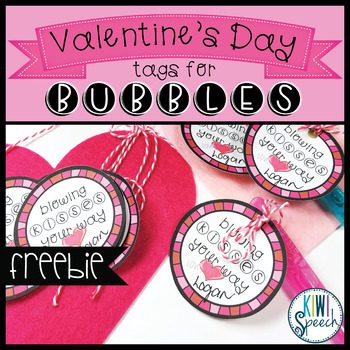 Valentine's Day Tag for Bubbles {FREEBIE}