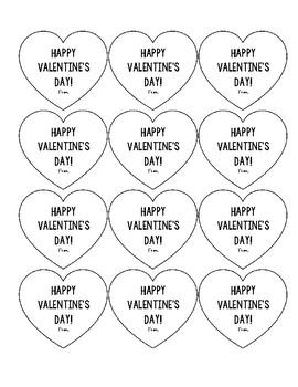 Valentine's Day Tags FREEBIE!