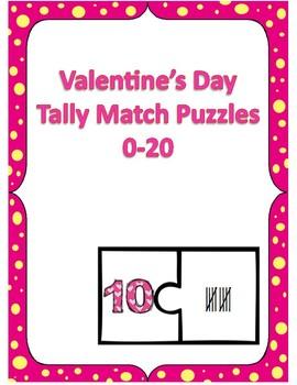 Hearts themed Math Tally Center