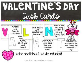 Valentine's Day Task Cards