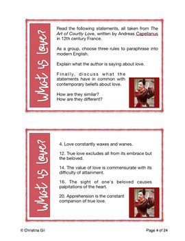 Romeo and Juliet Task Cards: Close Reading Passages & Paired Texts