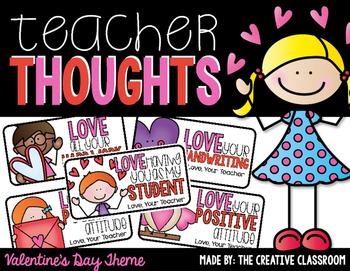 Valentine's Day Teacher Notes