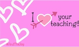 Valentine's Day Teacher Tag