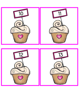 Valentine's Day Teen Number Pack