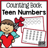 Valentine's Day Teen Numbers Counting Book