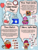 """Valentine's Day Telling Time - Valen""""times"""" Day Centers"""