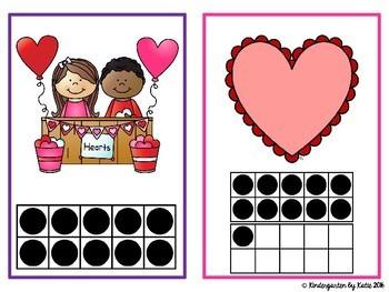 Valentine's Day Ten Frame Scavenger Hunt