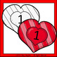 Valentine's Day Numbers, Tally Marks, and Ten Frames Clip Art - Chirp Graphics