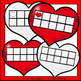 Valentine's Day Numbers, Tally Marks, and Ten Frames Clip