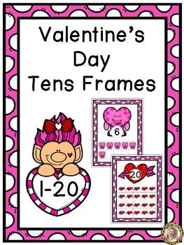 Valentine's Day Tens Frames