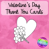 Valentine's Day Thank You Cards