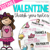 Valentine's Day Thank You Notes {Editable}