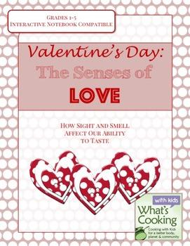 Valentine's Day: Elementary Senses of Love & Tasting Activity