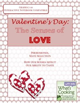 Valentine's Day: Secondary Senses of Love & Food Activity