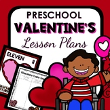 Valentine's Day Theme Preschool Lesson Plans -Valentine's