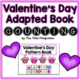 Valentine's Day Themed Adapted Book- Counting