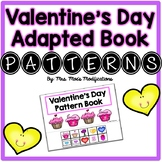 Valentine's Day Themed Adapted Book- Patterns