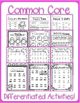 Valentine's Day Themed Common Core ELA & Math Packet