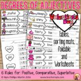 adjectives worksheet free teachers pay teachers. Black Bedroom Furniture Sets. Home Design Ideas