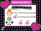 Verbs Valentine's Day Themed Digital Task Cards: Google Drive