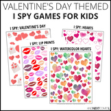 Valentine's Day Themed I Spy Games Pack