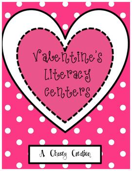 Valentine's Day Themed Literacy Center Bundle