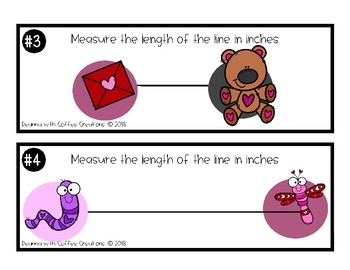 Valentine's Day Themed Measurement Activities - 2.MD.1, 2.MD.3, 2.MD.4