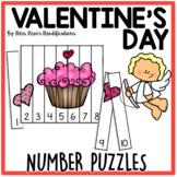 Valentine's Day Themed Number Counting Puzzles