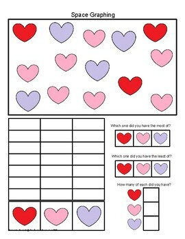 Valentine's Day Themed Packet for PreK and Kindergarten