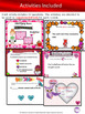 Valentine's Day Themed Parts of Speech Digital Task Cards: Google Drive Bundle