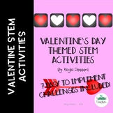 Valentine's Day Themed STEM Challenges