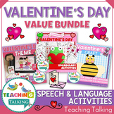 Valentines Speech Therapy Activities Value Bundle