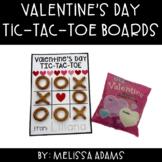 Valentine's Day Tic-Tac-Toe Board